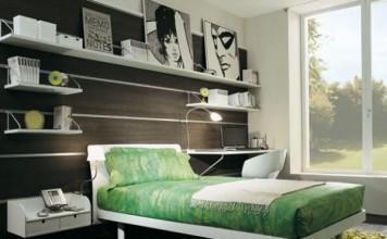 modern genç kız odası