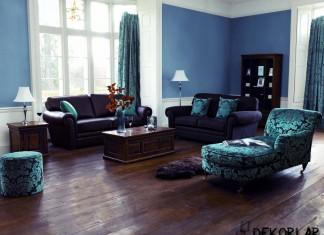 Evinizde Mavi Renk Modası
