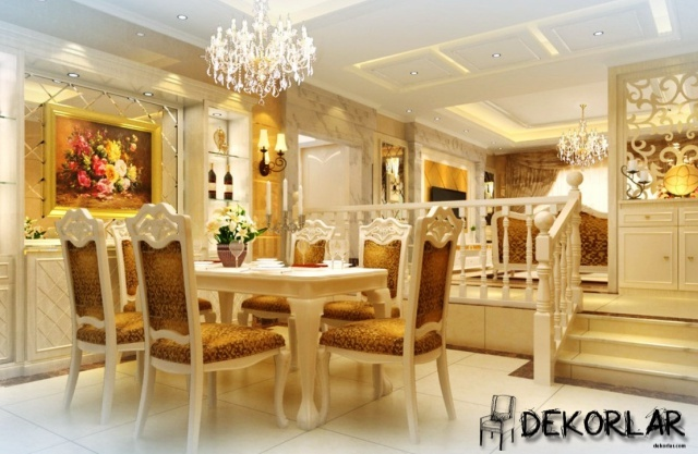Klasik Yemek Odası - 1