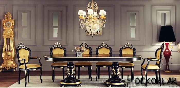 Klasik Yemek Odası - 4