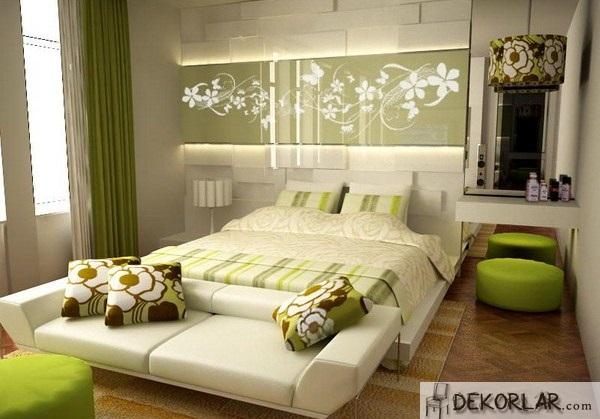 Yatak Odası Renk Uyumu