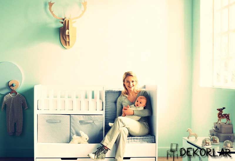 Bebek Odası Dekorasyonu - 2