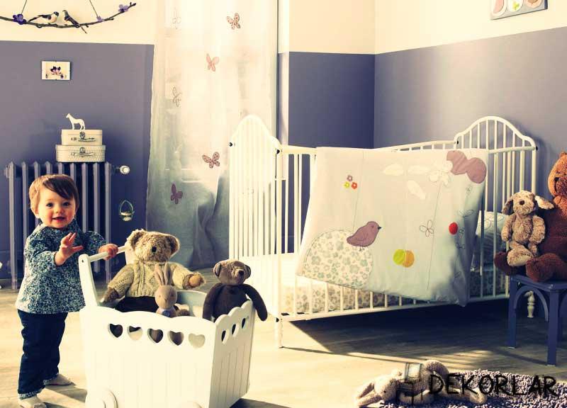 Bebek Odası Dekorasyonu - 1