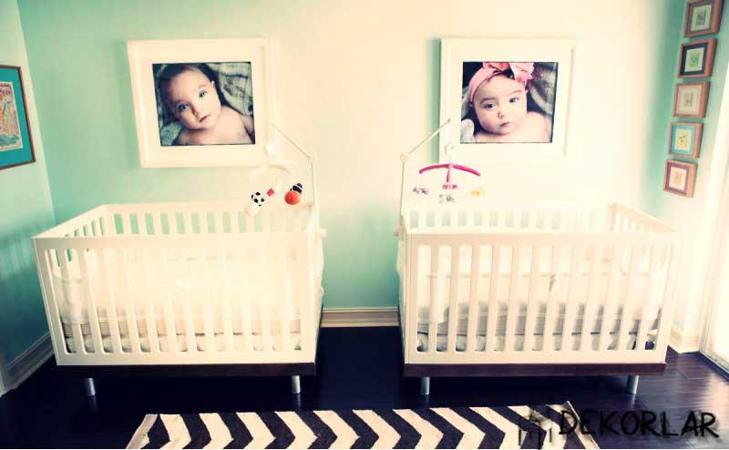 Bebek Odası Dekorasyonu - 5