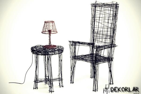 Çizim Gibi Duran Mobilyalar - 1