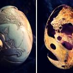 Figür İşlemeli Yumurta - 2