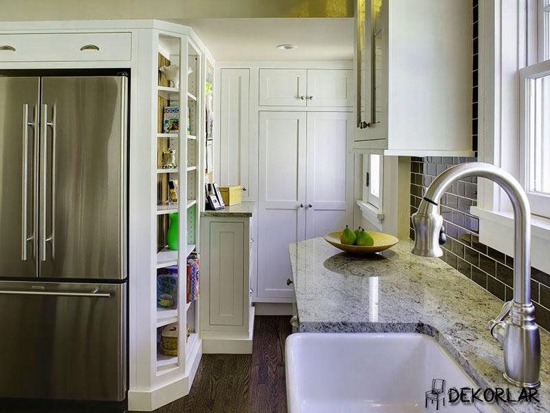 Küçük Mutfak Dekorasyon Fikirleri - 2