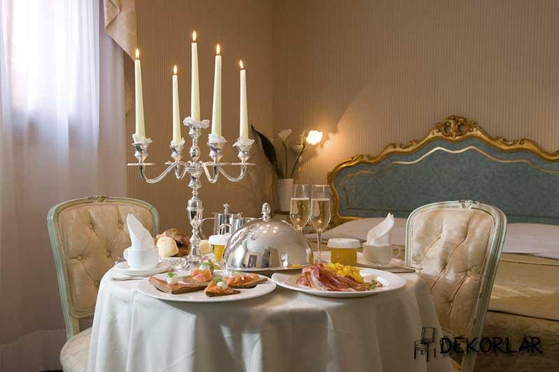 Romantik Yemek Odası -4