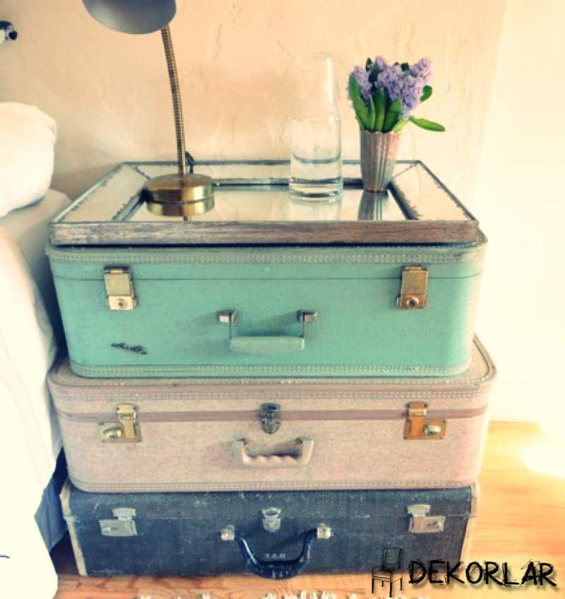Eski Bavulları Kullanma