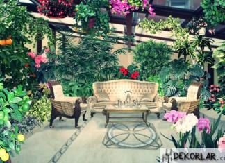 Kış Bahçesi Dekorasyon Fikirleri - 4