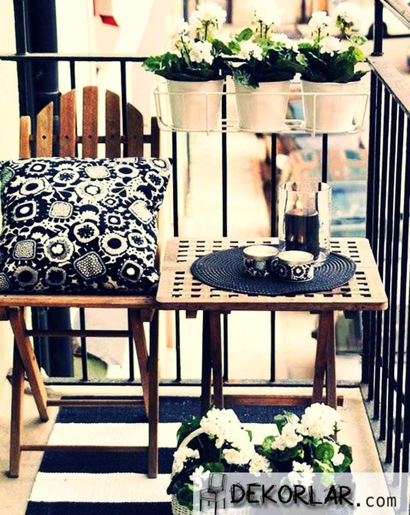 Küçük Balkon Tasarımları - 1