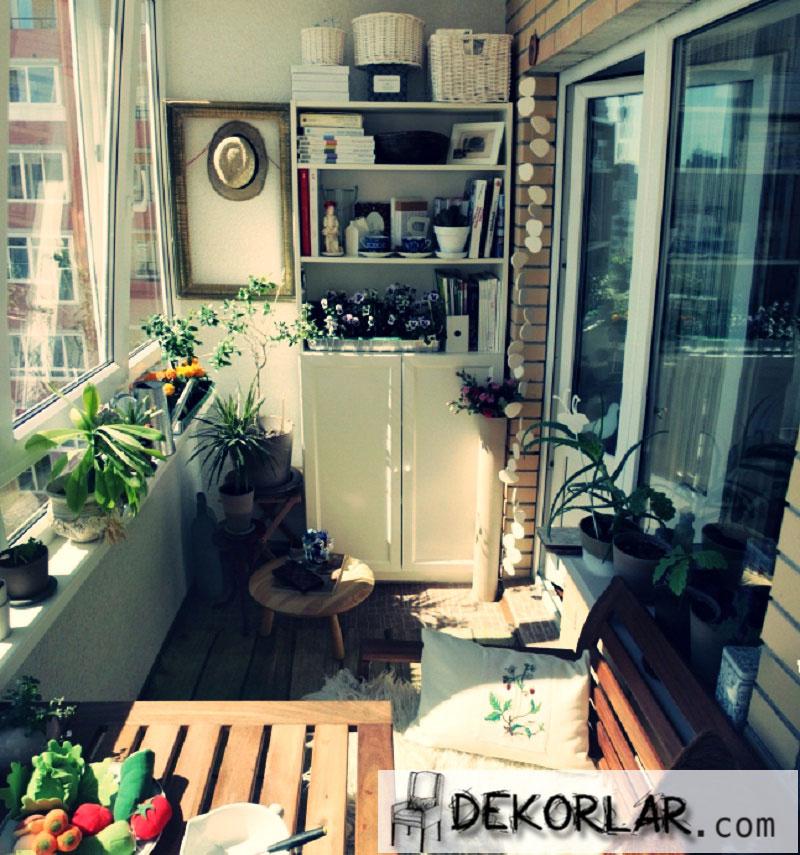 Küçük Balkon Tasarımları - 5