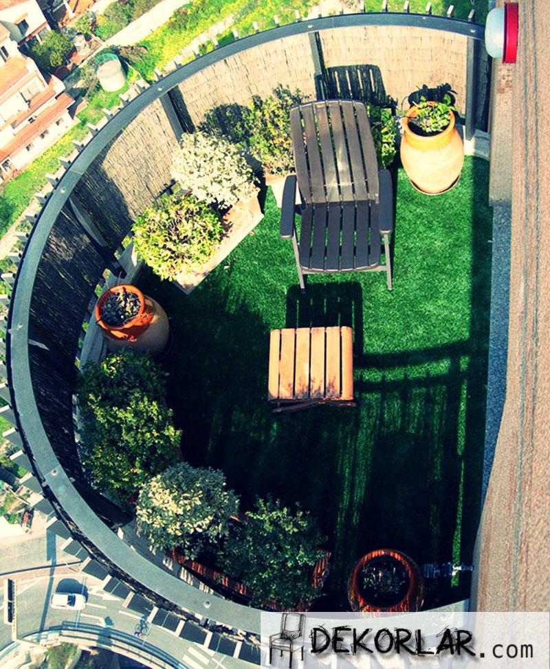 Küçük Balkon Tasarımları - 7
