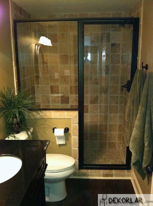 Küçük Banyo Dekorasyon Modelleri - 1