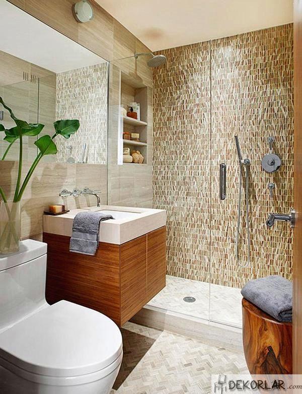 Küçük Banyo Dekorasyon Modelleri - 11