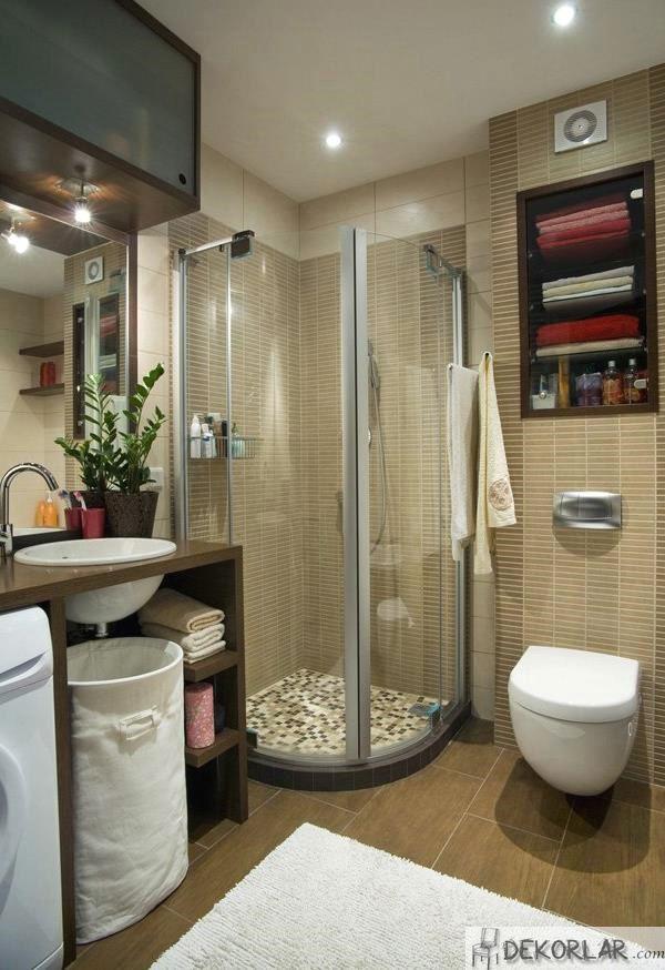 Küçük Banyo Dekorasyon Modelleri - 12