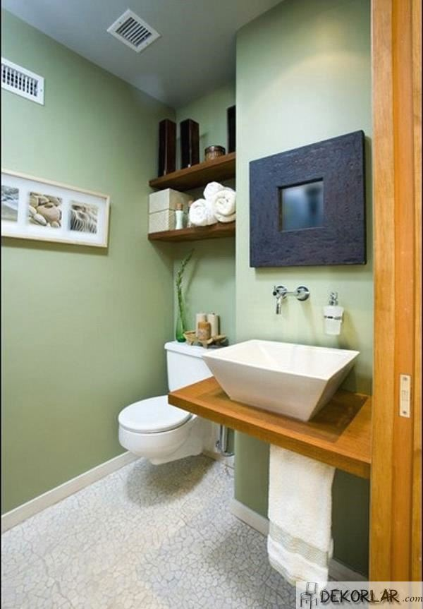 Küçük Banyo Dekorasyon Modelleri - 14