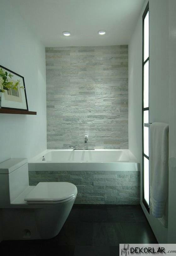 Küçük Banyo Dekorasyon Modelleri - 17