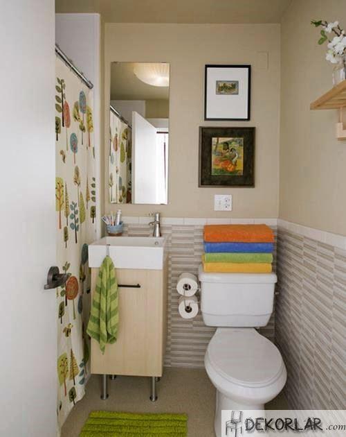 Küçük Banyo Dekorasyon Modelleri - 3