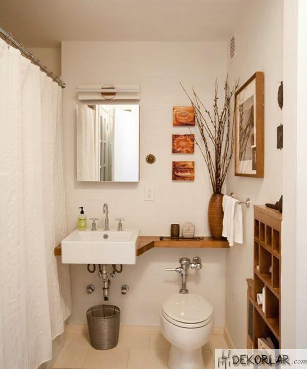 Küçük Banyo Dekorasyon Modelleri - 4