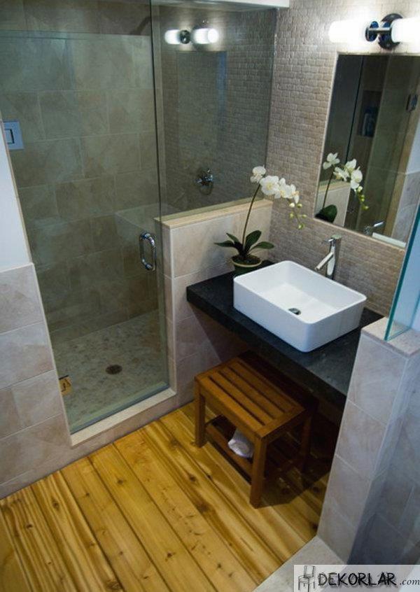 Küçük Banyo Dekorasyon Modelleri - 6