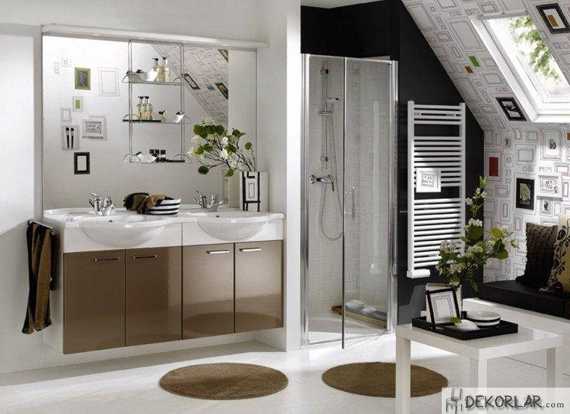 Lüks Banyo Dolabı Modelleri - 13