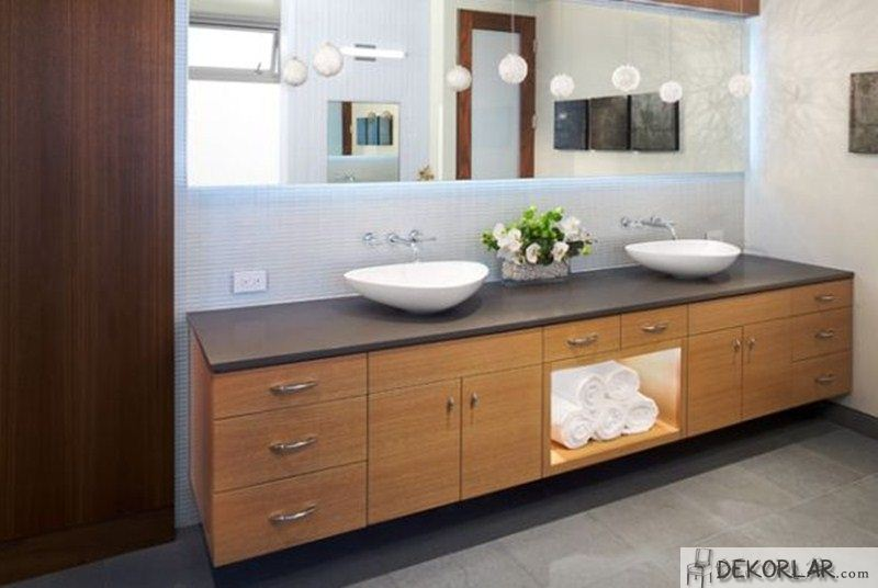 Lüks Banyo Dolabı Modelleri - 2