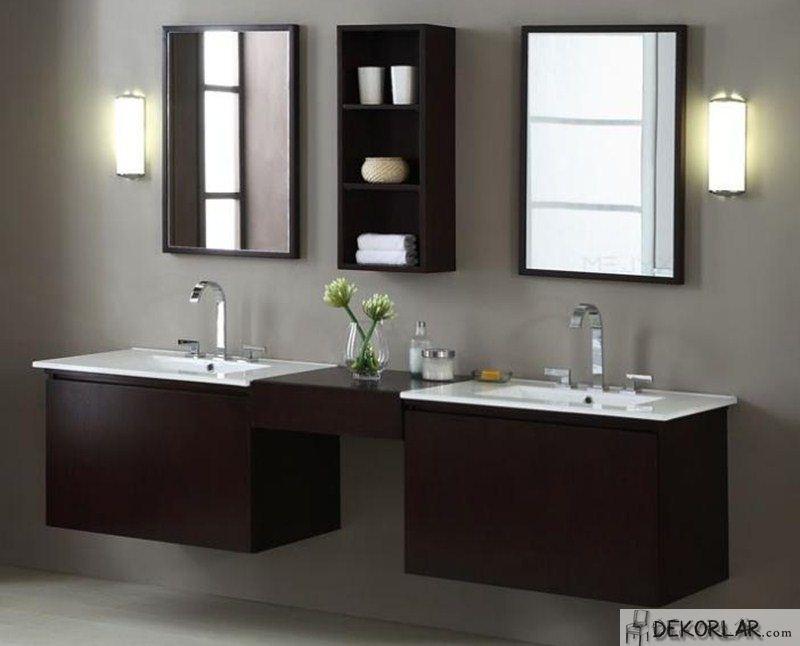 Lüks Banyo Dolabı Modelleri - 3