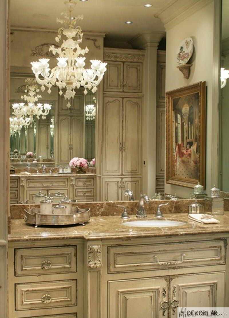 Lüks Banyo Dolabı Modelleri - 6