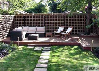 Bahçe Dekorasyonu Fikirleri 1