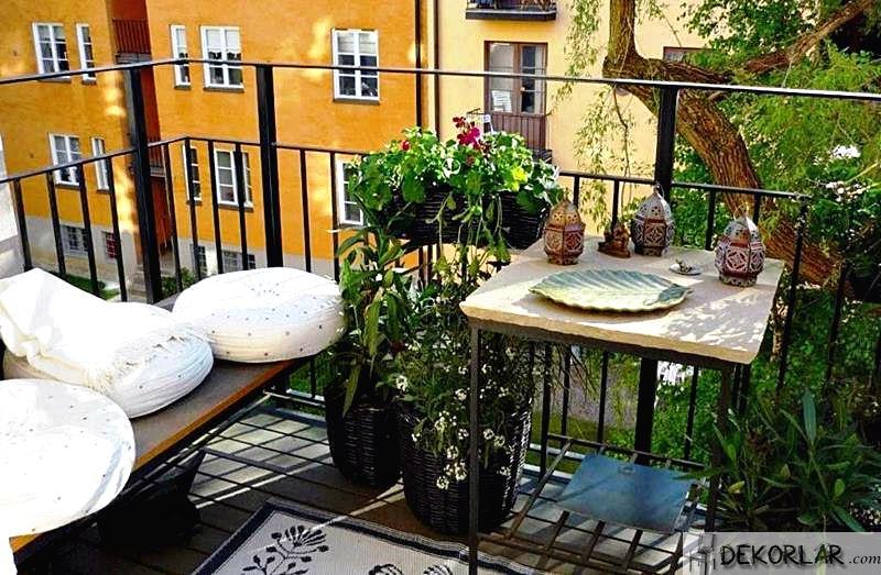 Balkon Dekorasyon Fikirleri - 2