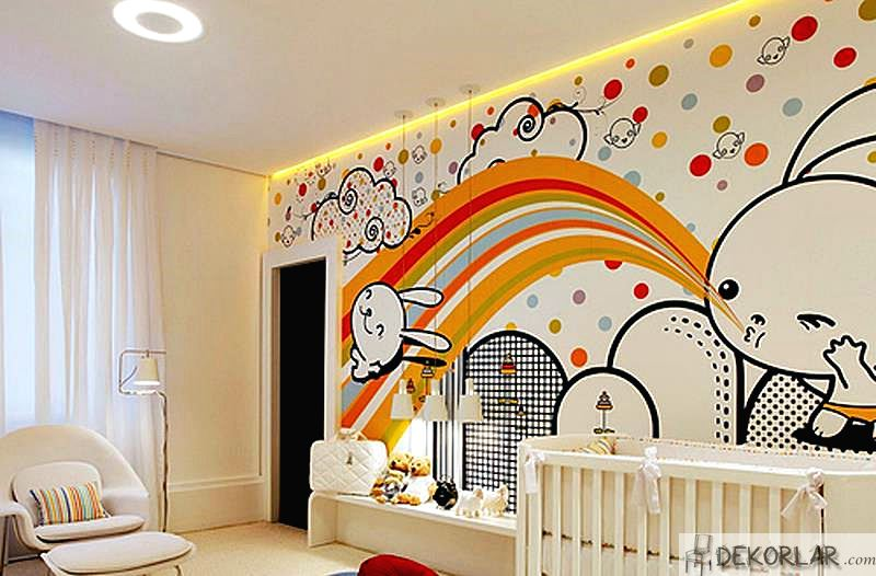 Bebek Odası Aydınlatma Modelleri - 1