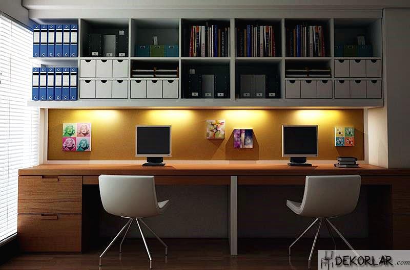 Çalışma Odası Tasarımları - 8