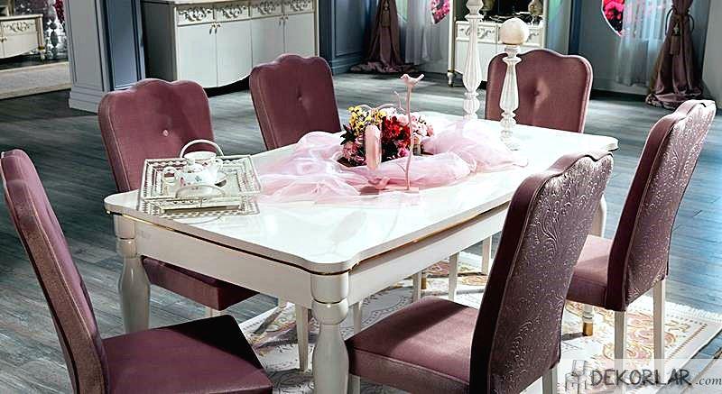 Alfemo Yemek Odası Modelleri Motto