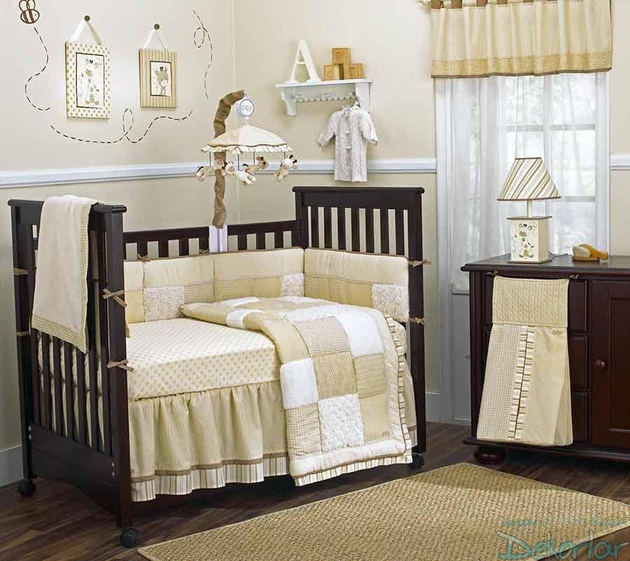 Bej Bebek Odası Dekorasyonu
