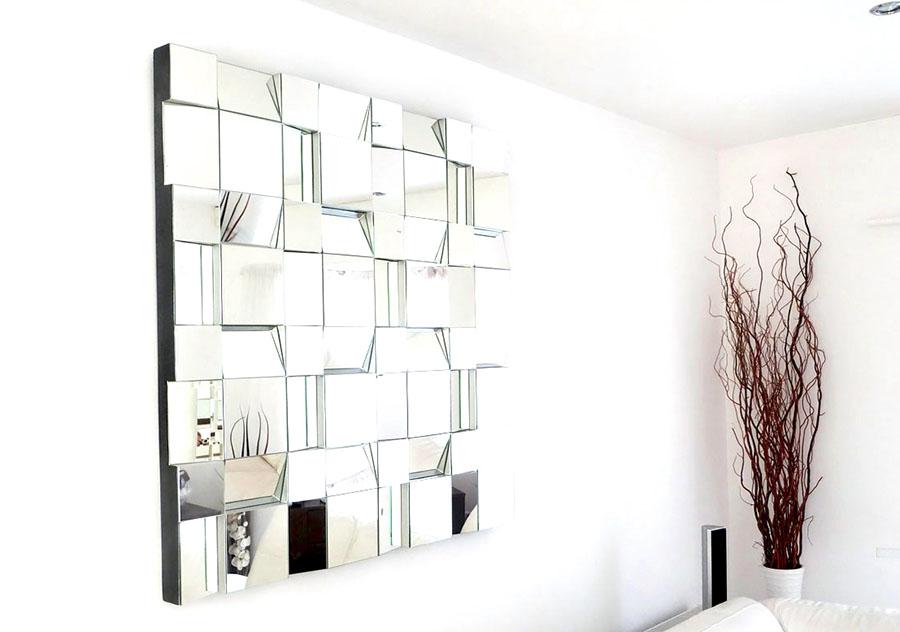 Boş Duvar İçin Ayna Dekorasyonu