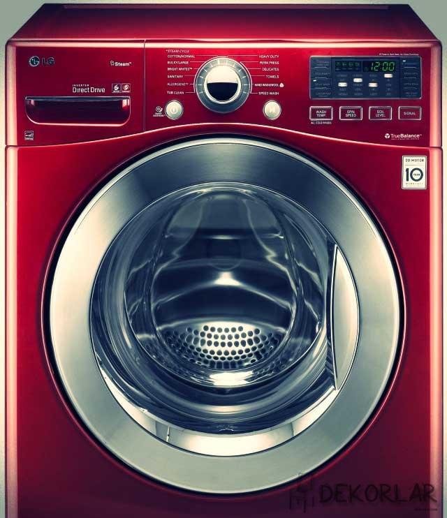 Renkli Çamaşır Makinesi