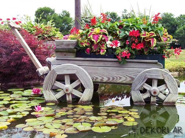 Yaratıcı Bahçe Dekorasyonları - 3