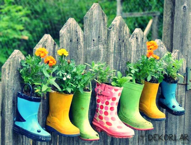 Yaratıcı Bahçe Dekorasyonları - 6