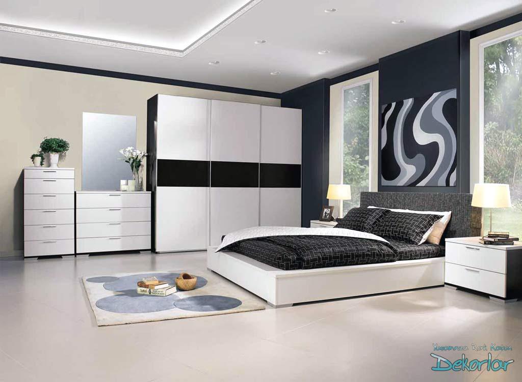 Gardrop Modelleri : Siyah ve Beyaz Gardrop Modeli