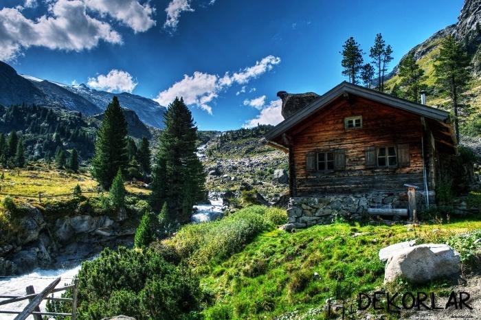 Dağ Evi Dekorasyonu - 1