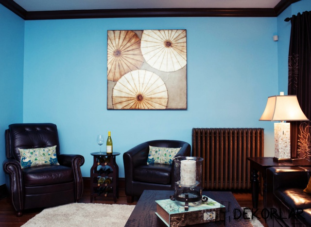 Evinizde Mavi Renk Modası - 1