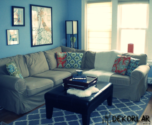 Evinizde Mavi Renk Modası - 3