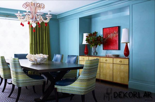 Evinizde Mavi Renk Modası - 4