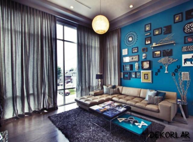 Evinizde Mavi Renk Modası - 6