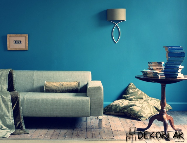 Evinizde Mavi Renk Modası - 7