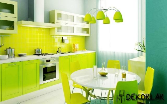 Evlerde Yaz Modası - Sıcak Renkler