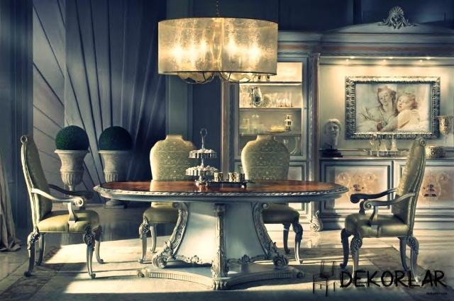 Klasik Yemek Odası - 5