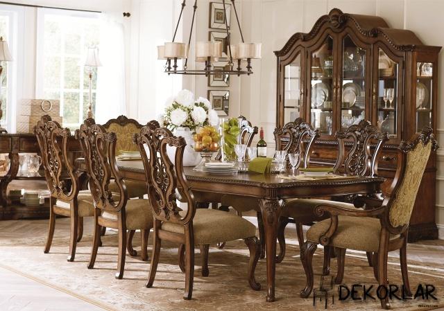 Klasik Yemek Odası - 2