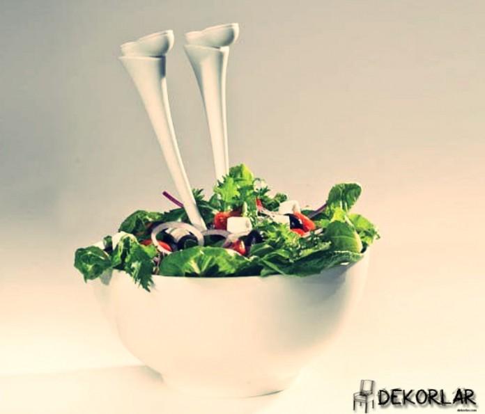 Ayaklı Salata Kaşığı - 2